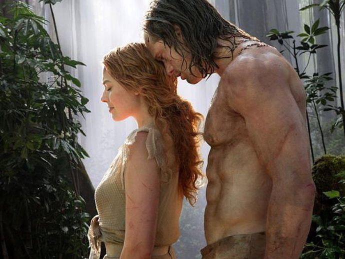 First images of 'The Legend of Tarzan' unveiled