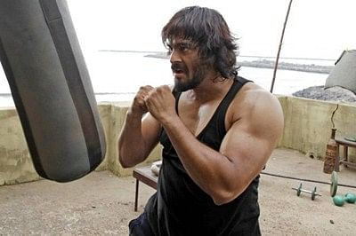 When Madhavan came close to Schwarzenegger's biceps size