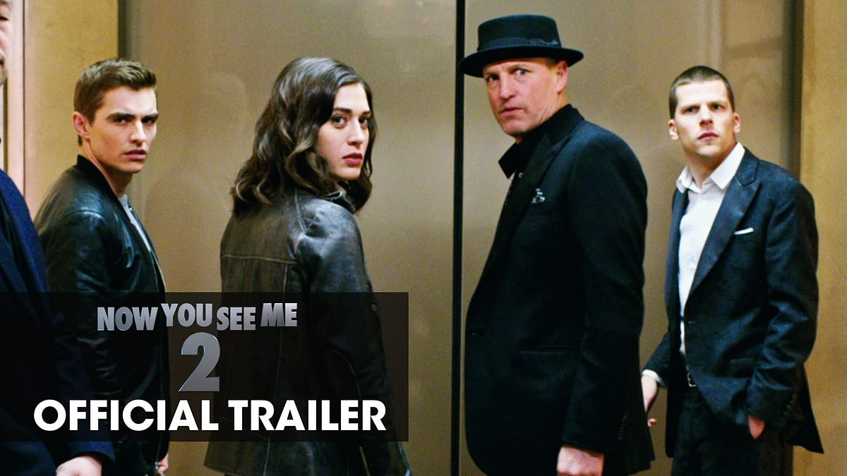Now You See Me 2 Official Trailer #1 (2015)