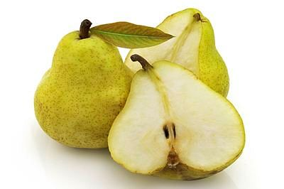 Eat pears to cut body weight this season