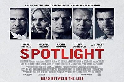 'Spotlight' named Best Picture by Boston critics