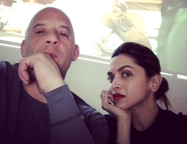Vin Diesel teases fans with leading lady Deepika's photo