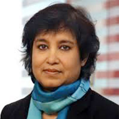 India a tolerant country, except for a few: Taslima