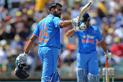 Rohit Sharma's father hails son's ton