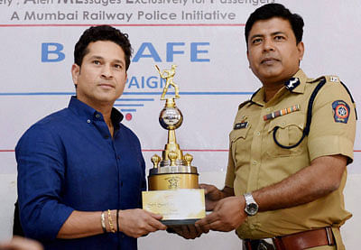 Sachin recalls near-death experience on rly tracks