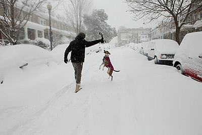 'Snowzilla' blizzard  hits US East Coast