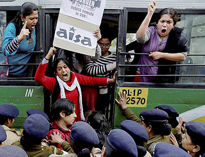 Hyderabad varsity students get bail