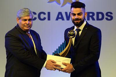 Virat Kohli, cricketer of the year
