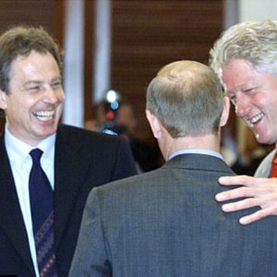 Putin could get squishy on democracy: Clinton told Blair