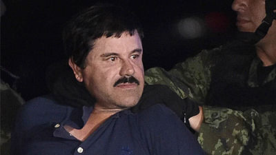 Mexican drug lord El Chapo sentenced to life in prison