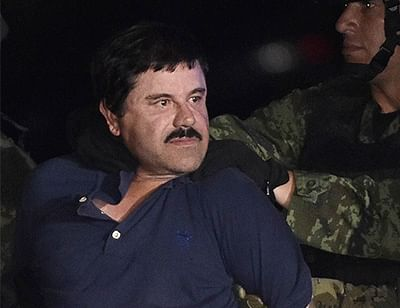 Most wanted drug kingpin  'El Chapo' arrested by marines