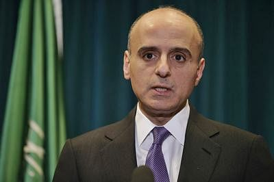 Saudi minister avoids questions on acquiring nukes from Pak