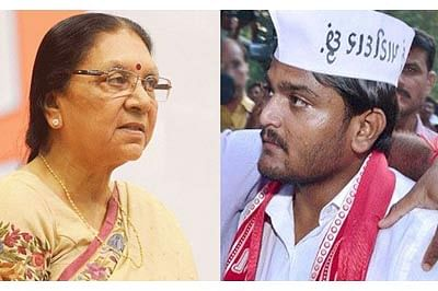 Hardik turns heat on Anandiben, from jail!
