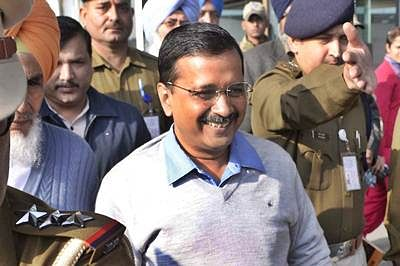 Kejriwal brags about 'non-corrupt govt' over Delhi govt's revenue surplus