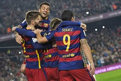 Barcelona into Cup semis, Celta Vigo dump Atletico out