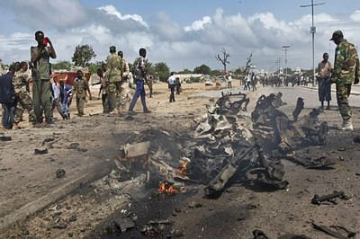 Islamist extremists attack African Union base in Somalia
