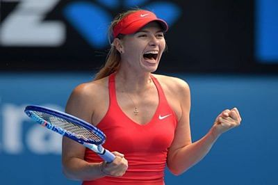 Sharapova sails into Australian Open third round