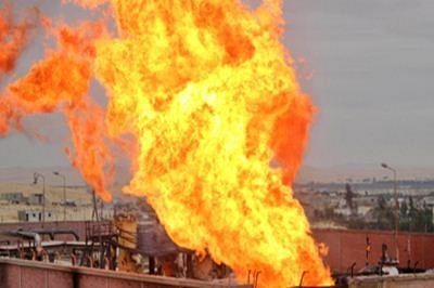 Blast sparks fire erupts in major oil pipeline in Yemen