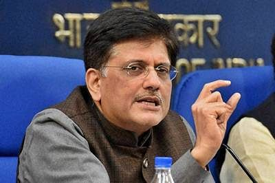New Delhi: Union Ministers Ananth Kumar, Ravi Shanker Prasad and Piyush Goyal during a press conference after a Cabinet meeting in New Delhi on Wednesday. PTI Photo by Vijay Verma (PTI1_20_2016_000232B)