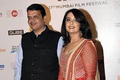 Fadnavis's wife sings for Prakash Jha's film
