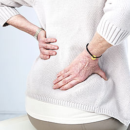 Use acupressure to ease lower back pain