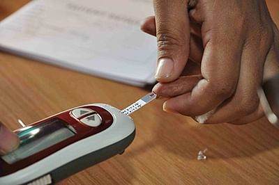 High blood sugar may cause  heart attack complications