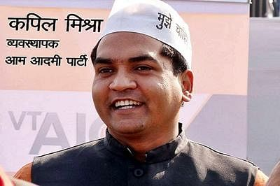 AAP govt removes Kapil Mishra as minister, inducts 2 new faces
