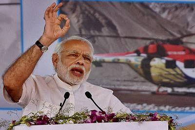 President lays bare Modi 2.0 intent