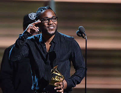 Kendrick Lamar wins big at the Grammys