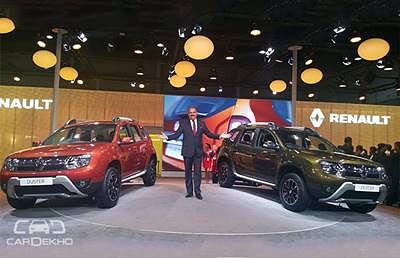 Renault Duster Facelift Might be Launched by the End of Next Month!