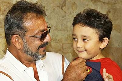 Sanjay Dutt's son to appear in remix of Raj Kapoor's song