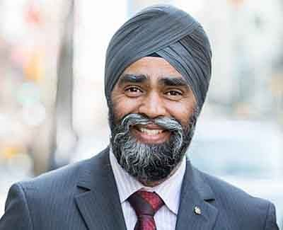 Canada's Sikh Defence Minister heckled with 'racist' remarks