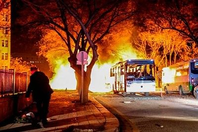 Reports: Syrian man behind deadly Ankara car bomb attack