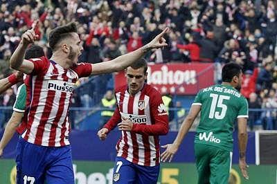 Atletico Madrid storm back to defeat Eibar 3-1 in La Liga