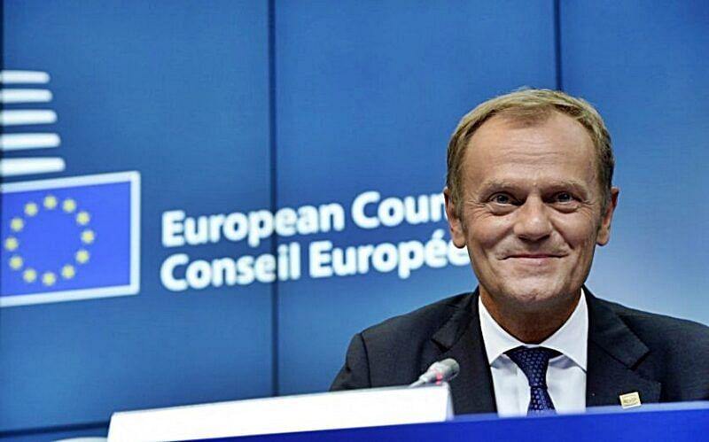 EU's Donald Tusk backs delay if Britain 'rethinks' Brexit
