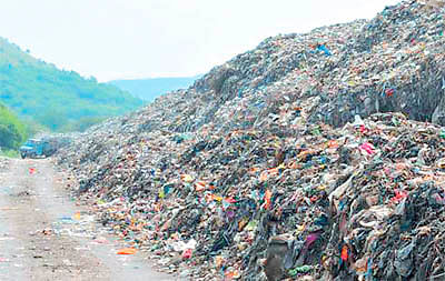 IMC to do landfilling of garbage at trenching ground