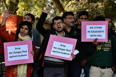 JNU row: NHRC issues notice to Home Secy, Police Comm