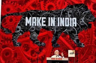 Mumbai: Prime Minister Narendra Modi addresses during the inauguration of the Make in India Week in Mumbai/file .