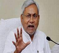 BJP's patriotism is RSSism: Nitish Kumar
