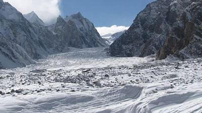 In five years, Swiss glaciers have melted by 10 per cent