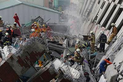 Taiwan quake toll rises to 26