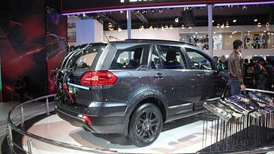 Tata Hexa Accessorized 2016 Auto Expo