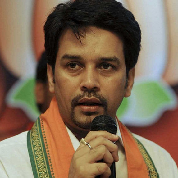 EC issues notice to Union Minister Anurag Thakur over 'desh ke gaddaron ko...' comment at Delhi rally