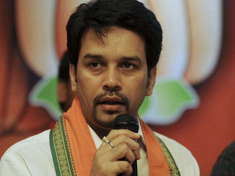 After Kapil Mishra, MoS Anurag Thakur chants 'Desh ke gaddaron ko.....' at Delhi election rally