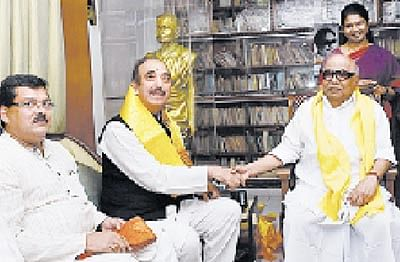 Southern comfort for Congress as DMK yields!