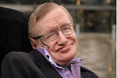 Hawking hails gravitational wave discovery