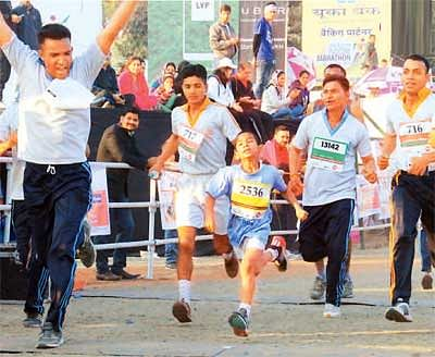 20000 run for healthy & green Indore
