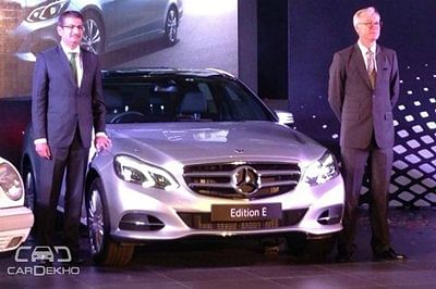 Mercedes Benz E-Class Edition E Launched at Rs. 48.60 lac
