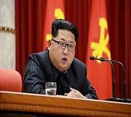 N Korea fires five short-range missiles into sea