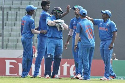 Pant slams fastest U-19 WC fifty as India thrash Nepal to top Group D